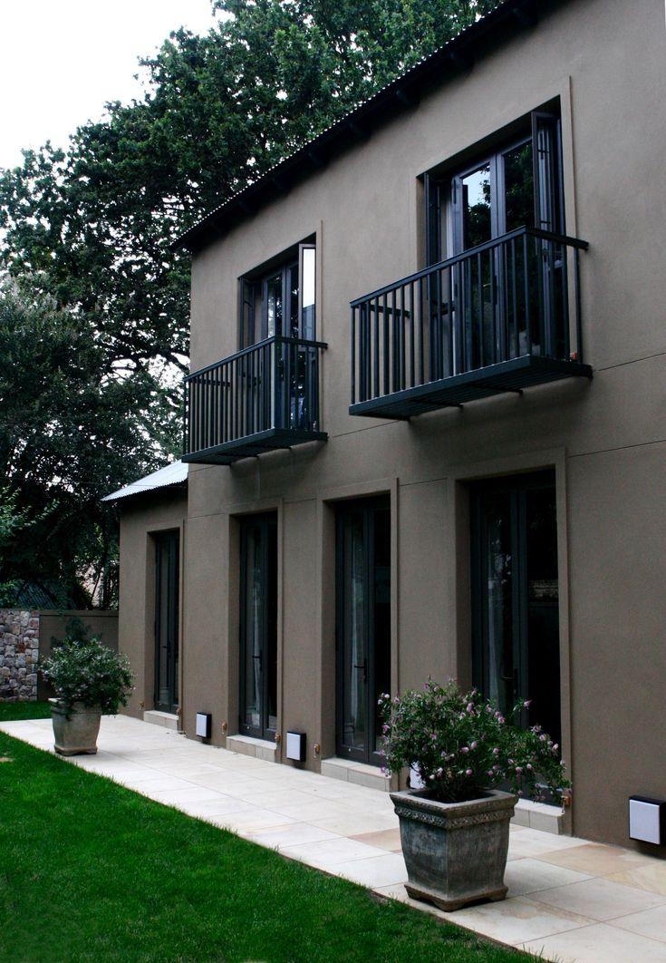 Steel Juliette balconies