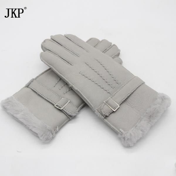 #DealOfTheDay #BestPrice New 2017 Sheepskin Gloves 100% Genuine Women's Pure Natural Wool Gloves Winter Sheepskin Fur Gloves Hot glove