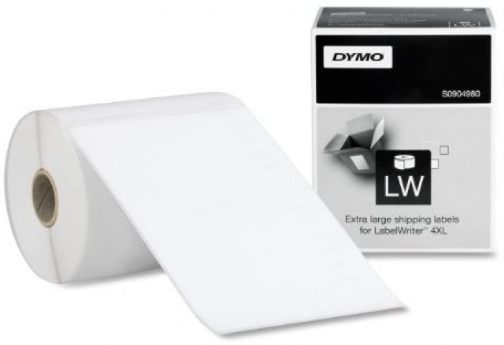 DYMO LW Extra-Large Shipping Labels for LabelWriter Label Printer White Shipping #DYMO