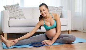 Lo bueno de hacer ejercicios durante el embarazo