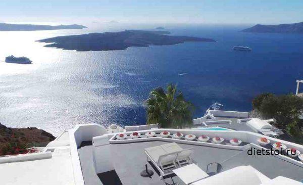 Греция, Санторини фото