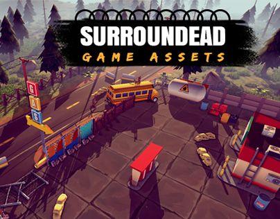 SurrounDead - Survival Game Assets AVAILABLE ON UNITY ASSET STORE https://www.assetstore.unity3d.com/en/#!/content/76276