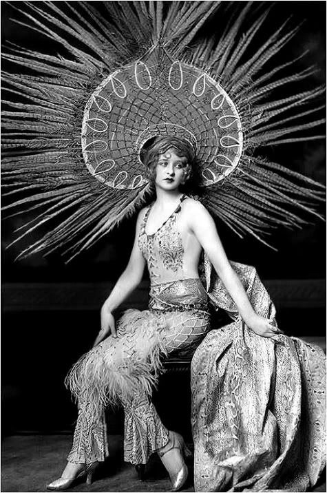 If Charlie Parker Was a Gunslinger,There'd Be a Whole Lot of Dead Copycats: Ziegfeld Girls: Myrna Darby