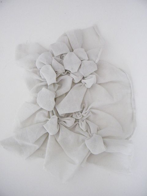 Fabric Manipulation by claire platt, via Flickr
