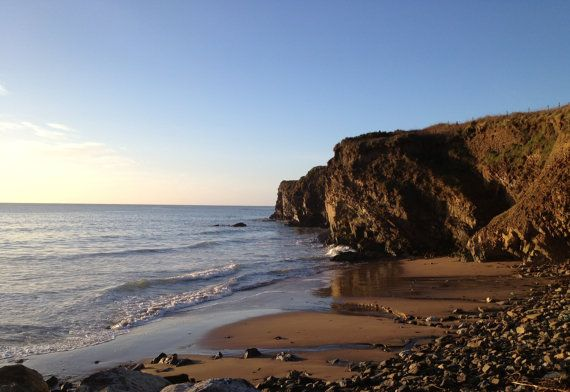 Scenic Landscape Photography in Cork, Ireland. Morning at the Beach, Rocky Bay!