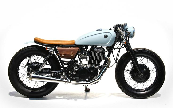 Cafe Racer Pasión — Yamaha SR400 Cafe Racer by The Sports Customs |...
