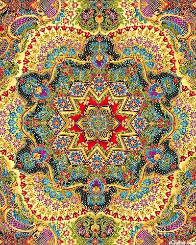 'Florentine 3' - Italian Garden by Peggy Toole for Robert Kaufman Fabrics