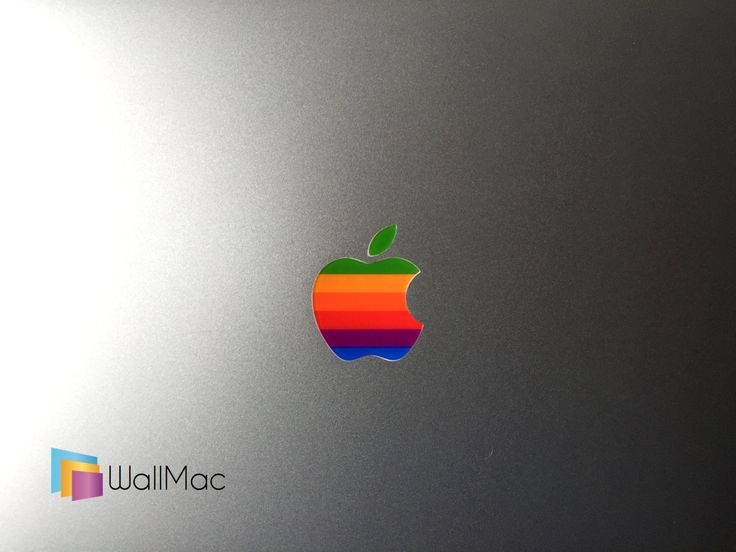 Original Apple Logo Glowing Backlit Apple Logo for MacBooks 2 Decals Stickers per Order by WallMac on Etsy