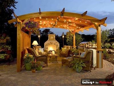 85 best pergola ideas/screened in porch images on pinterest ... - Pergola Ideas For Patio