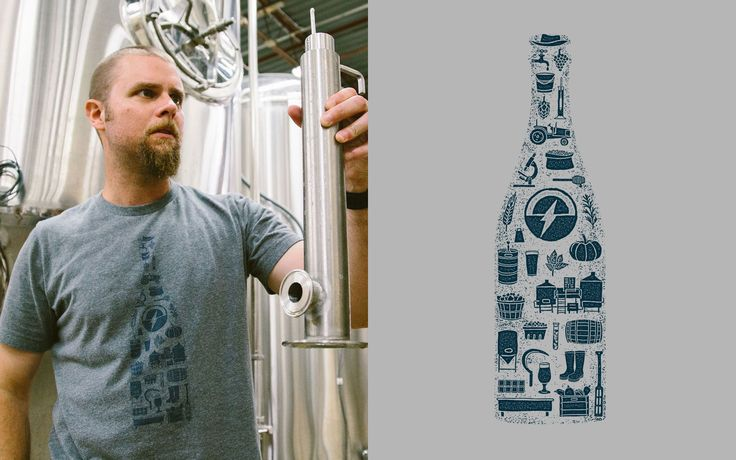 Scorched Earth Brewing T-Shirt Design by Knoed Creative