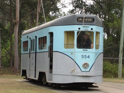 This Phoenix Tram - FM 554 - was built from useful parts of other trams…