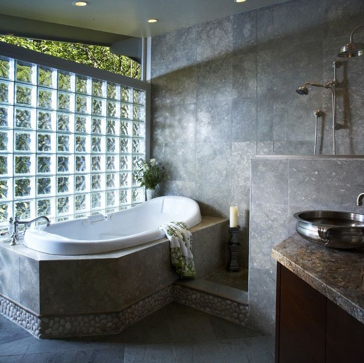 Glass Block Bathroom Ideas 47 best glass bricks images on pinterest | glass brick, bathroom