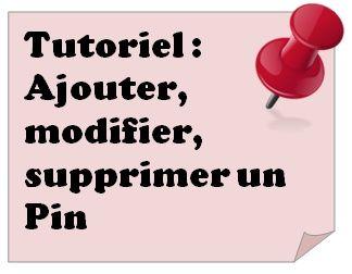 Tutoriel #Pinterest : Comment Ajouter, Editer, Modifier, Supprimer un Pin. Lire le détail de l'article sur tomatejoyeuse.blo...