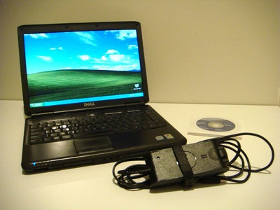 This is my previous workhorse PC, a Dell Vostro 1400 that I am selling on eBay - bidding starts at a penny!