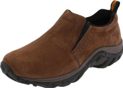 Merrell Men`s Jungle Moc Nubuck Slip-On Shoes $52.49 - $90.00