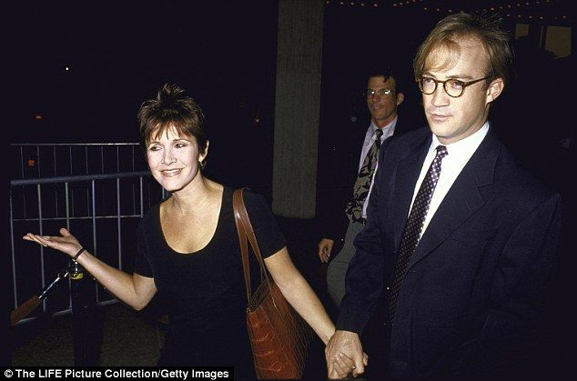 Carrie Fisher's ex Hollywood power agent Bryan Lourd (together 1991-1994, one daughter)