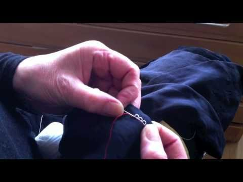 How to make Carrickmacross Lace Loops
