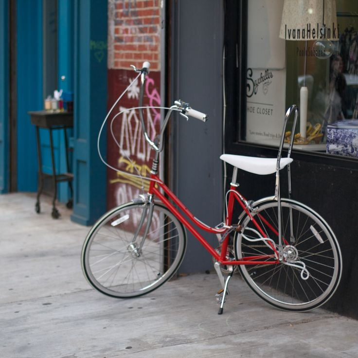 Finnish #bike for sale at our Nolita location!  Nothing like biking in the #summertime !