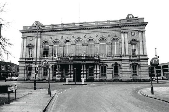 Grimsby Town Hall.