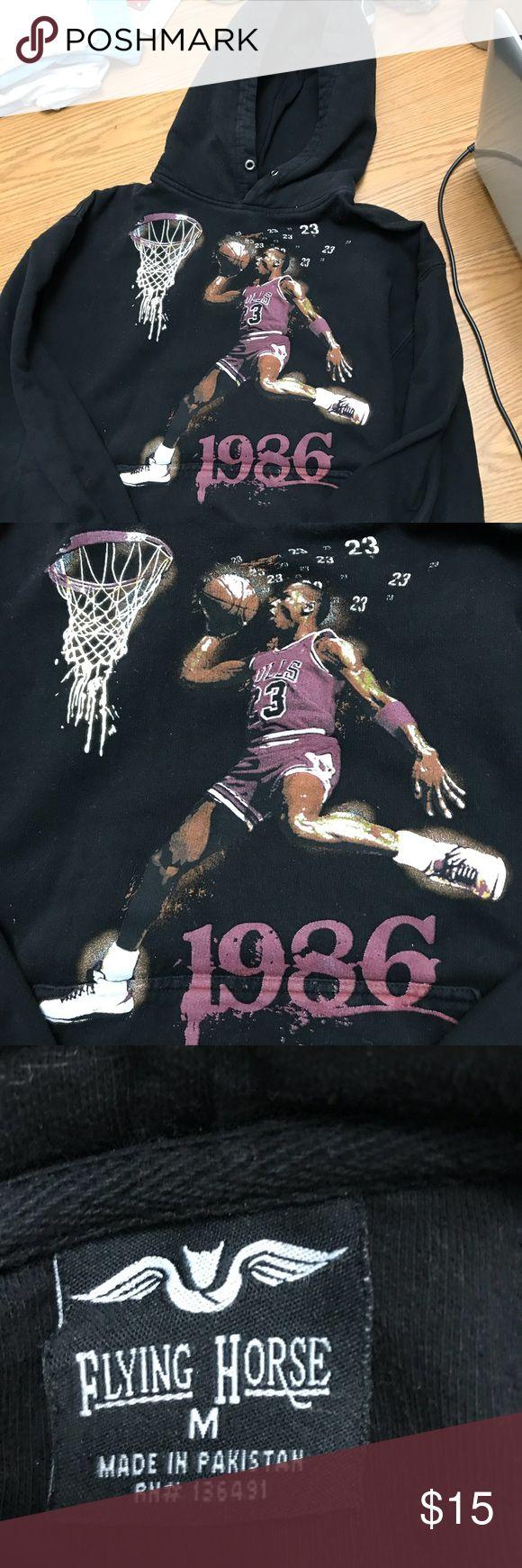 Boys Med hoodie with Michael Jordan 1986 print EUC 61 Flying Horse Shirts & Tops Sweatshirts & Hoodies
