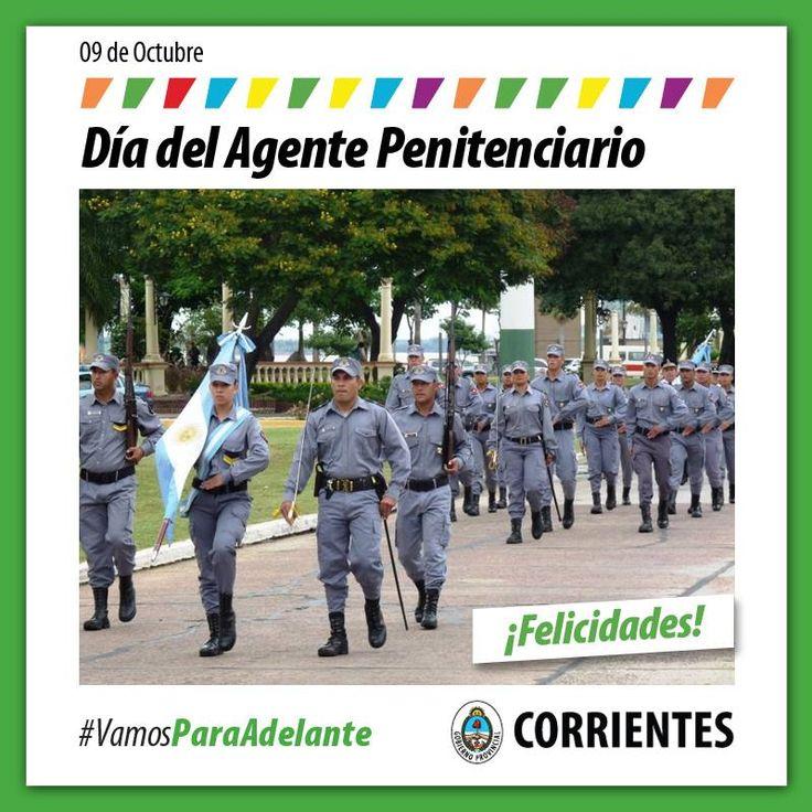 9 de Octubre Día del Agente Penitenciario #VamosParaAdelante