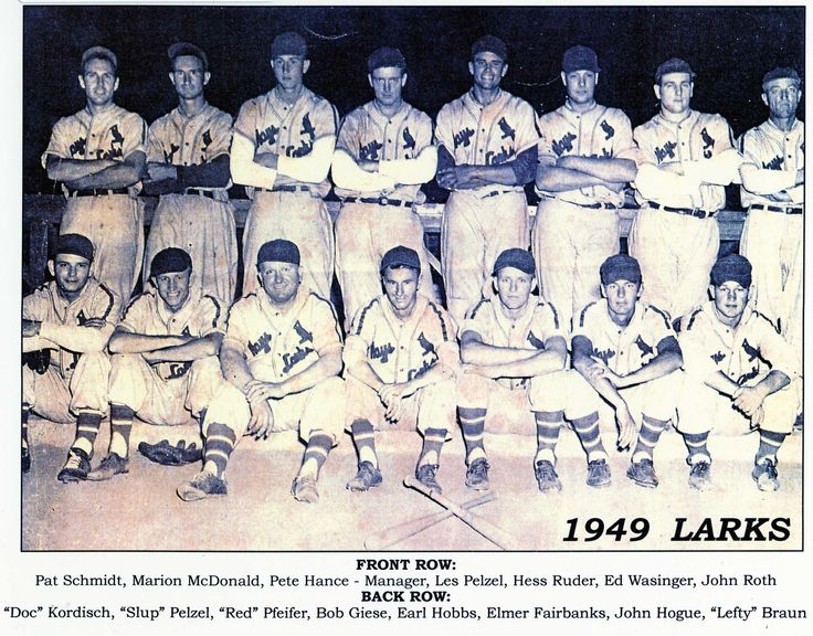 Hays Larks -- 1949, Hays, KS
