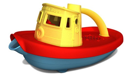 boat.: Baby Products, Recycled Plastic, Bath Toys, Tug Boats, Plastic Milk, Baby Toys, Toys Tugboat, Green Toys, Kids Toys
