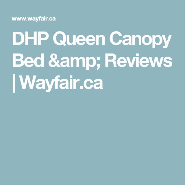 DHP Queen Canopy Bed & Reviews | Wayfair.ca