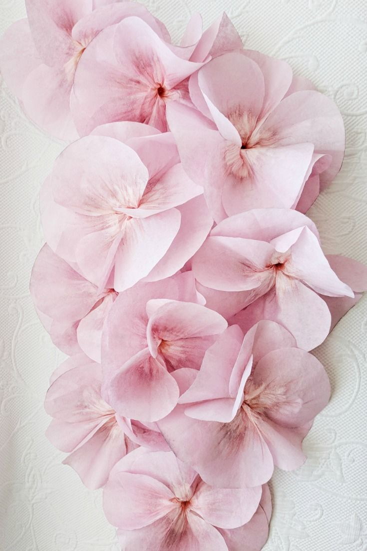 Coffee Filter Flowers Are Beautiful And Easy To Make Good For