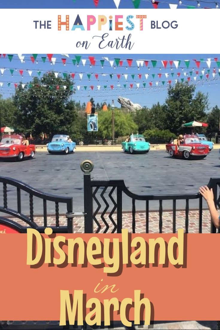 Disneyland in March, planning tips for your Disneyland vacation. Discount tickets, ride closures, entertainment and more from The Happiest Blog on Earth.