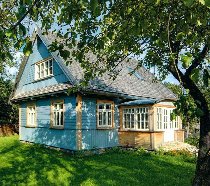 Dom drewniany w nowej odsłonie.