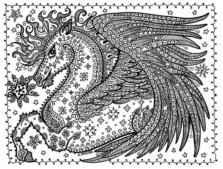 Pegasus Fantasy Myth Mythical Mystical