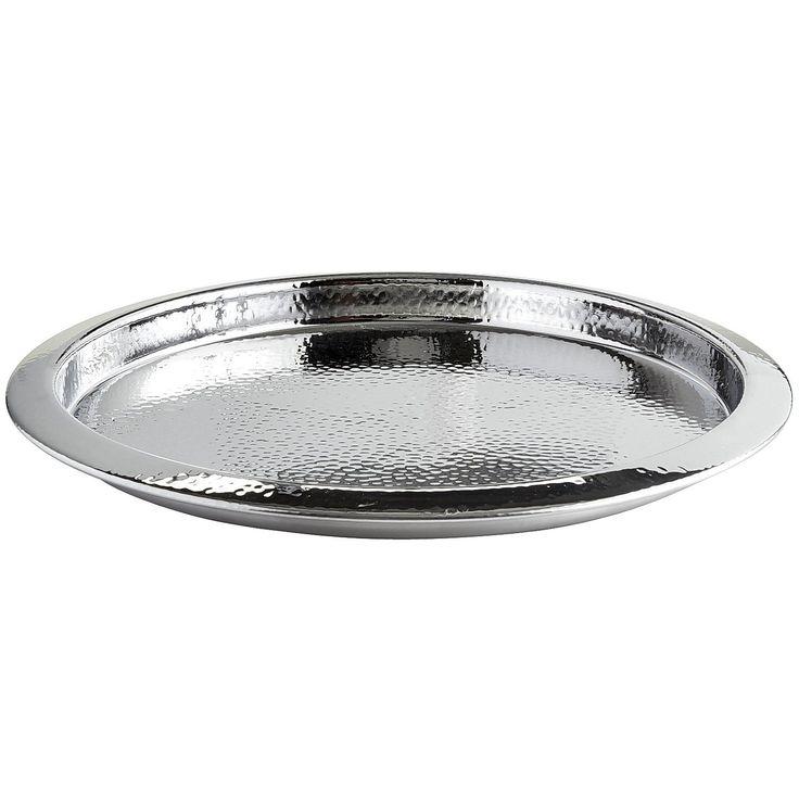Hammered round tray pier 1 imports round tray tray
