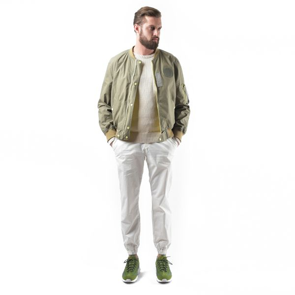 BESLOW / 16SS JOGGER PANTS WHITE