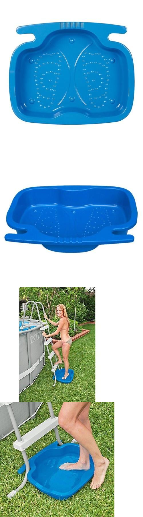 Pool Skimmer Systems and Baskets 181069: Intex Foot Bath For Pool Ladders On Above Ground Swimming Pools -> BUY IT NOW ONLY: $34.32 on eBay!