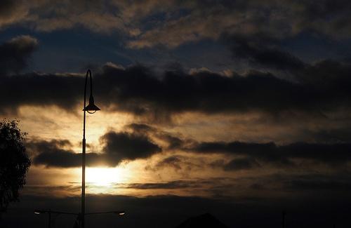 Sunrise Streetlights
