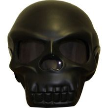 Full Skull Novelty Motorcycle Helmet Good.