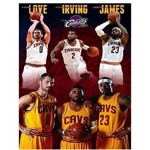 NBA-Cleveland-Cavaliers-display-your-passion-Team-Wall-Poster-fans-Collection