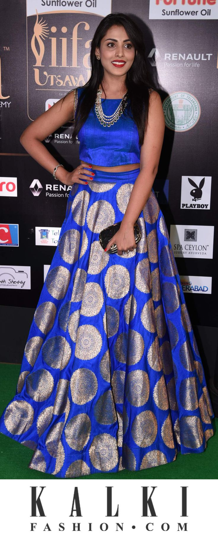 IFFA 2017 (Disclaimer : The above outfit is not a KALKI product.)