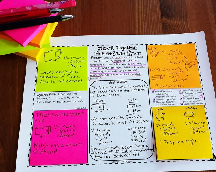 Collaborative Problem-Solving in Math - students maintain individual accountability but also practice collaborative and problem-solving skills in a group
