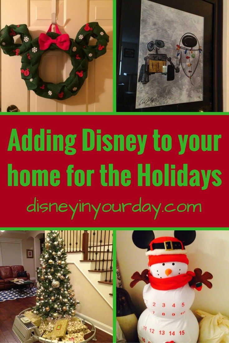 Disney christmas decorations for home - Adding Disney To Your Home For The Holidays