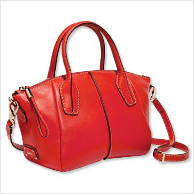 Spring Fashion Trends — Flame: Tod's Bag
