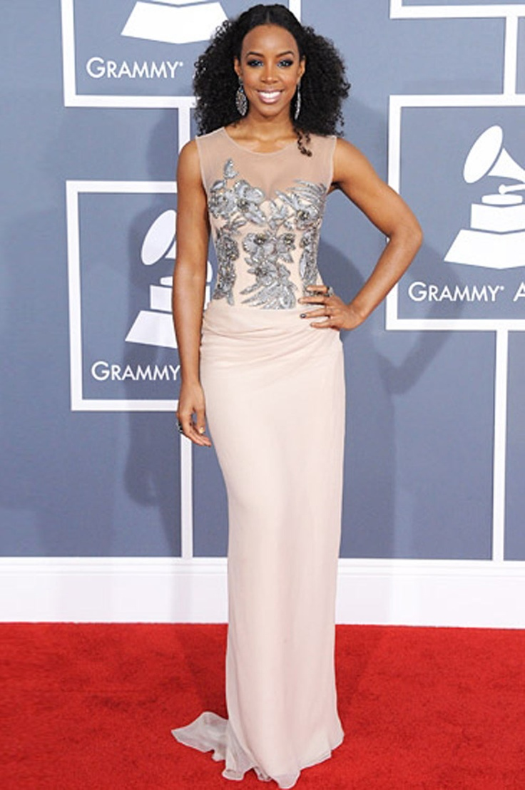 eDressit Custom-made Kelly Rowland Grammy Awards Dress