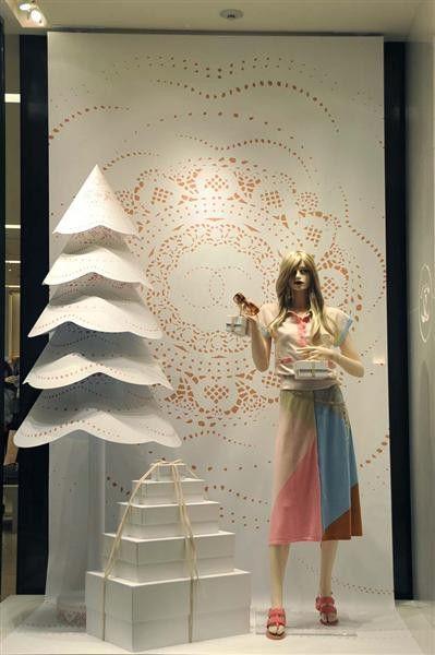 Inspirações para montar sua vitrine de Natal e Ano Novo