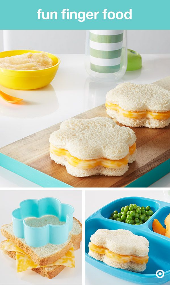 Looking to amp up lunchtime? Or maybe have a picky eater? You'll wow your kiddos with this extra-fun lunch. Easily (and quickly) make lunch awesome sandwich makeover. What do you need? Your sandwich fixings and any shaped cookie cutter. Then, make the sandwich like normal and grab your cookie cutter. Place it in the middle of the sandwich and push down hard. You'll be serving up some serious smiles with a side of veggies.