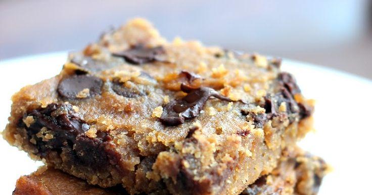 Renew Health Coaching: Flourless Chocolate Chip Blondies