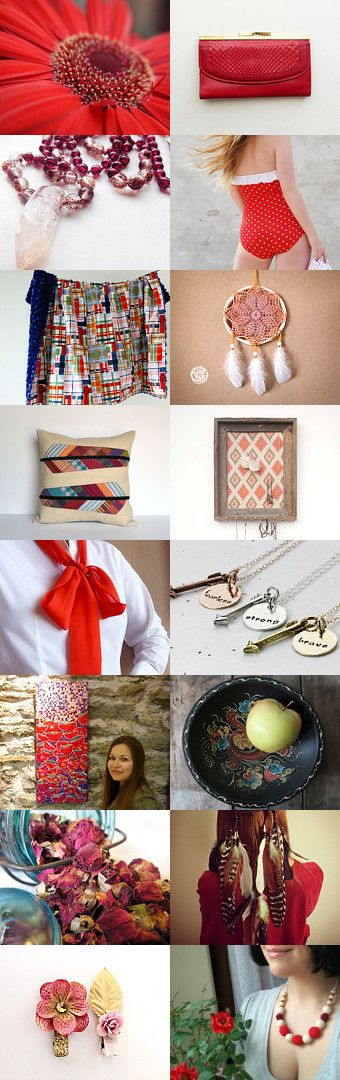 She's like a Red Rainbow by Janell on Etsy--Pinned with TreasuryPin.com