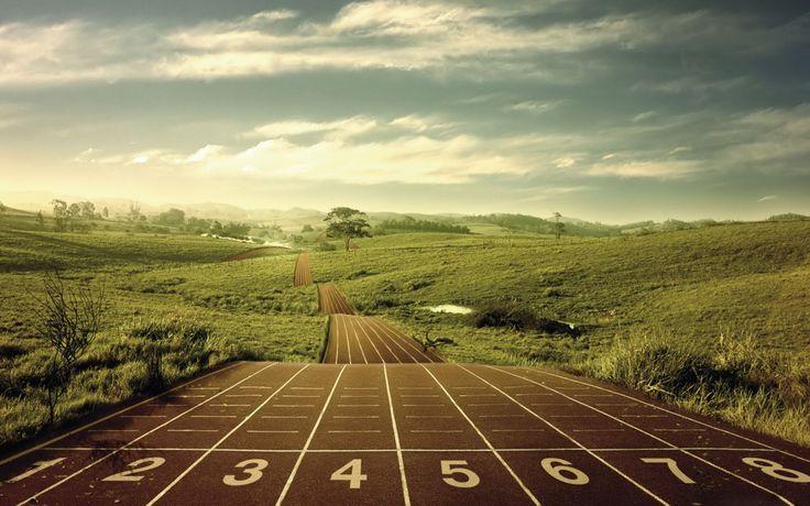 Empieza la carrera. #race