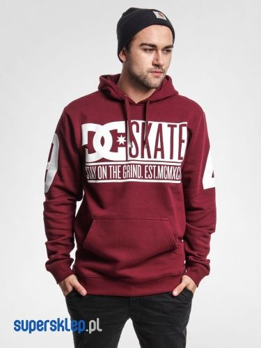 Bluza z kapturem DC Blockpart HD (burgundy)