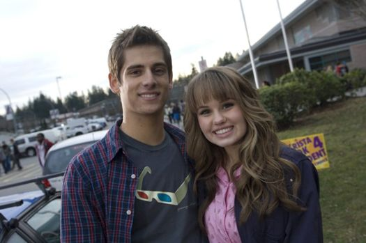 Debby Ryan Jean Luc Bilodeau ~ 16 wishes is like.. one of my favorite movies :)